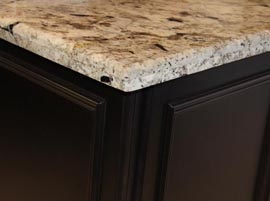 Bianco Antico Granite with Standard Eases Edge