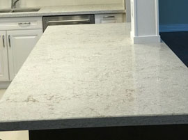 Calacata White Quartz Countertop
