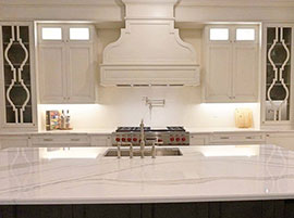 Quartz Countertop Custom Cabinetry