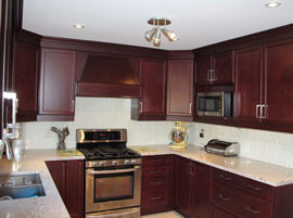 Cashmere White Granite Countertop